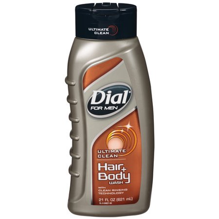 Dial Body Wash Mens Ultimate Clean 2 in 1/ 6/ 21 oz