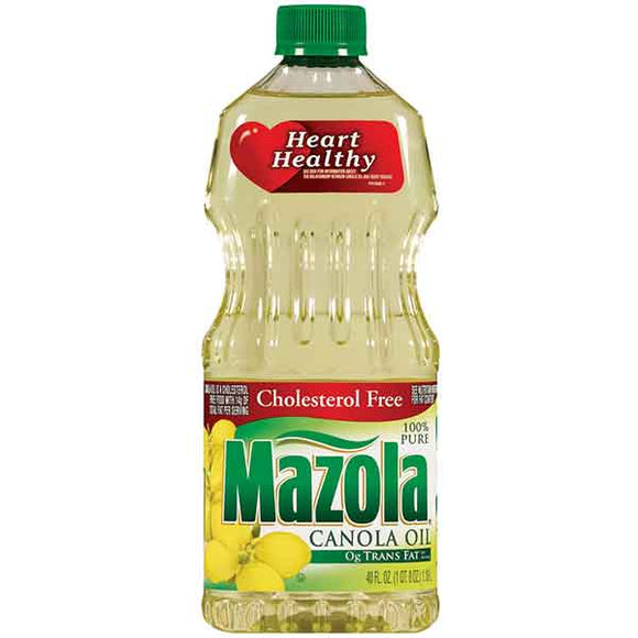 Mazola Canola Oil 12/ 40 oz