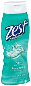 Zest Body Wash Aqua 6/ 18 oz
