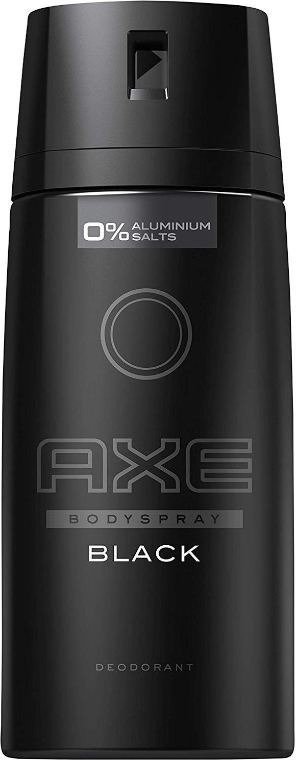 Axe Body Spray Black 150ml 6/ 5 oz