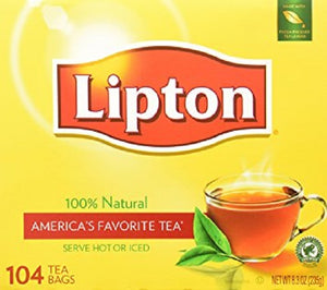 Lipton Tea Bags No UPC 18/ 104 ct