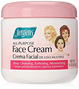 Jergens Face Cream All Purpose 6/ 15 oz