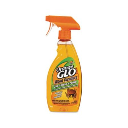 Orange Glo Wood Furniture 2 In 1 Clean & Polish Spray 6/ 16oz