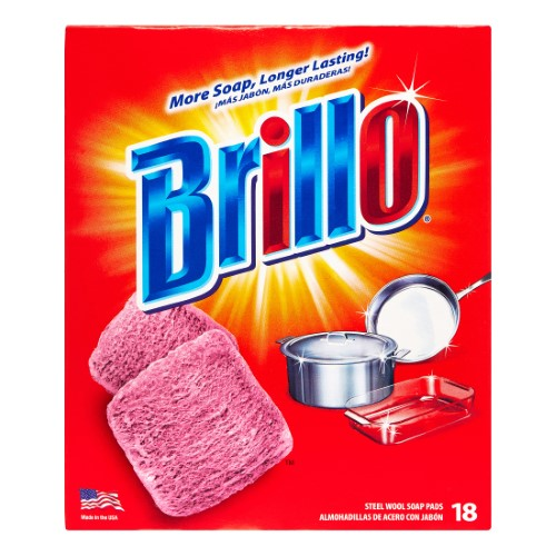 Brillo Soap Pads 12/ 18 ct