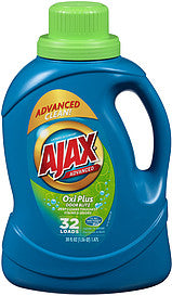 Ajax Liquid Oxi Plus HE (Blue) 6/ 50oz