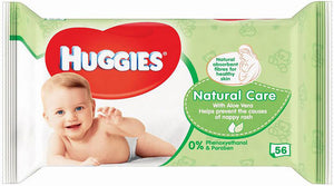 Huggies Baby Wipes Soft Pack Natural Care 10/ 56 ct
