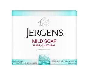 Jergens Soap 3 pk 32/ 3 oz