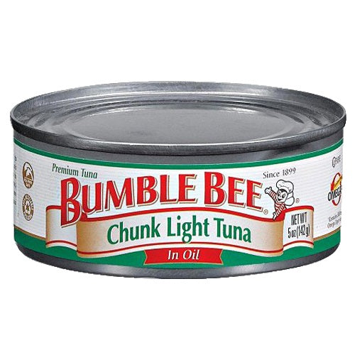 Bumble Bee Tuna Chunk Light Oil 48/ 5 oz