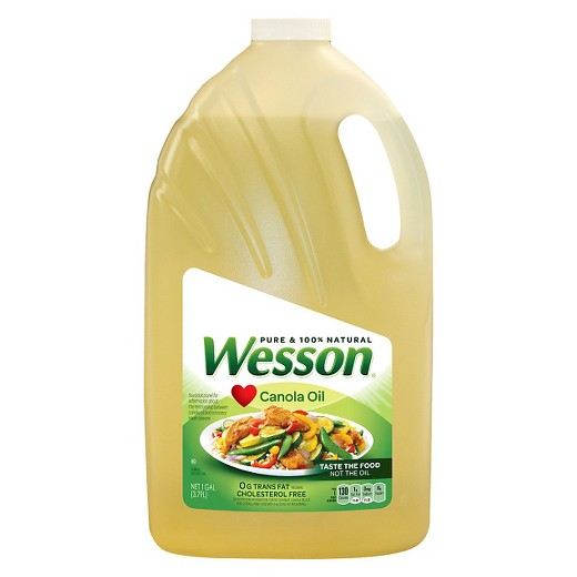 Wesson Oil Canola 4/ 128 oz