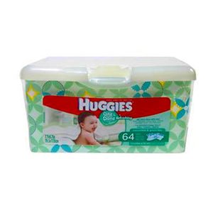 Huggies Baby Wipes Tub One Done Refreshing 4/ 64  ct