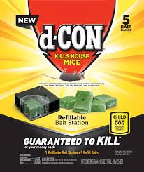 D-CON Bait Station Corner Fit 8/ 6ct