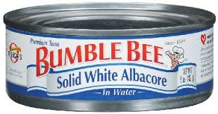 Bumble Bee Tuna Solid White Water 48/ 5 oz