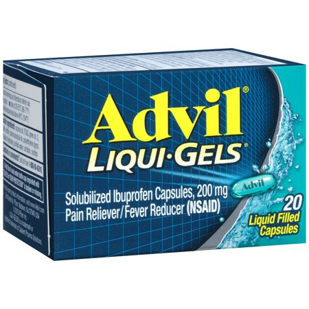 Advil Liquid Gels 6/ 20 ct