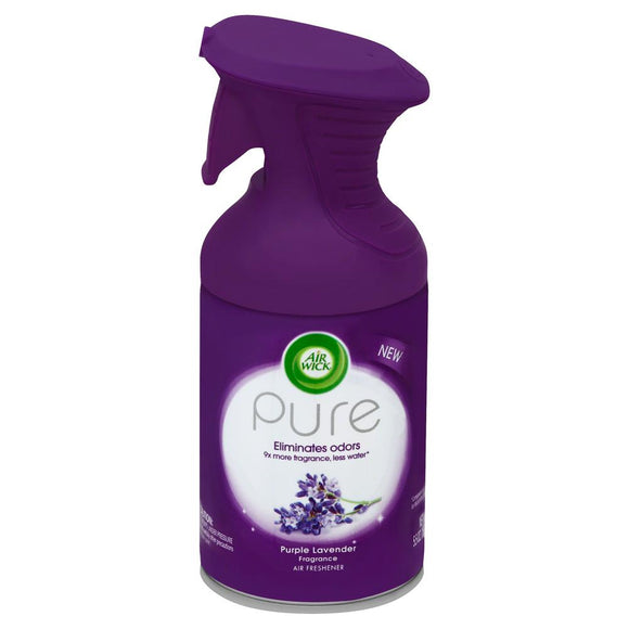 Air Wick Pure Premium Aerosols Purple Lavender 6/ 5.5 oz