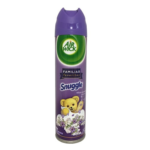 Air Wick Aerosol Snuggle White Lavender 12/ 8 oz