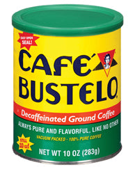 Bustelo Coffee Can Decaf 12/ 10 oz