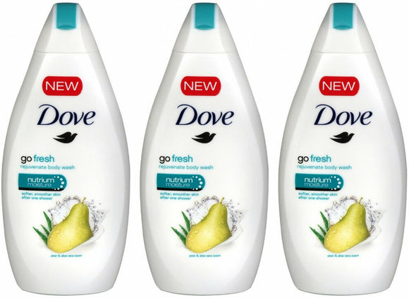 Dove Body Wash Go Fresh Rejuvenate Pear & Aloe Vera 12/ 16.9 oz