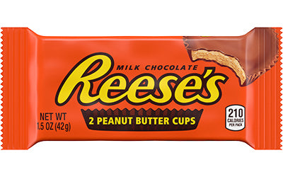 Hersheys Chocolate Reeses Peanut Butter Cup 36/ 1.5 oz