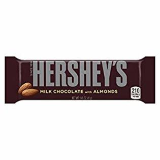 Hersheys Chocolate With Almond 36/ 1.46 oz