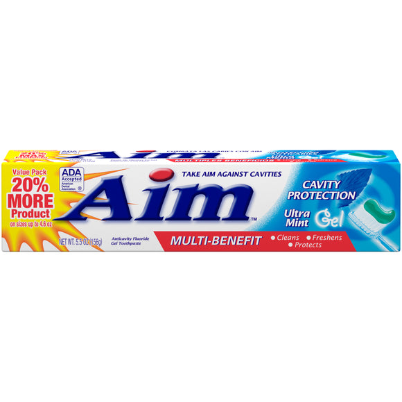 Aim Cavity Protection Mint Gel 24/ 5.5 oz