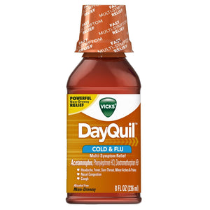 Vicks Dayquil Liquid Cough & Cold 12/ 8 oz