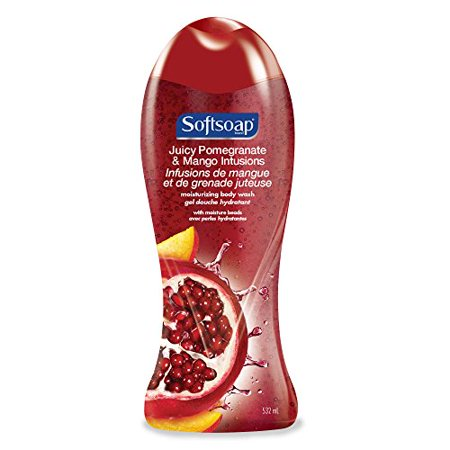 Soft Soap Body Wash Pomegranate & Mango 6/ 18 oz