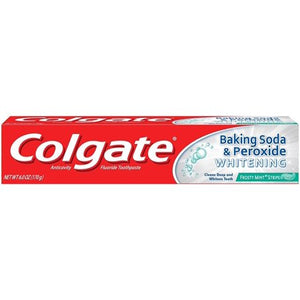 Colgate Baking Soda & Peroxide Whitening Frosty Mint 24/ 4 oz