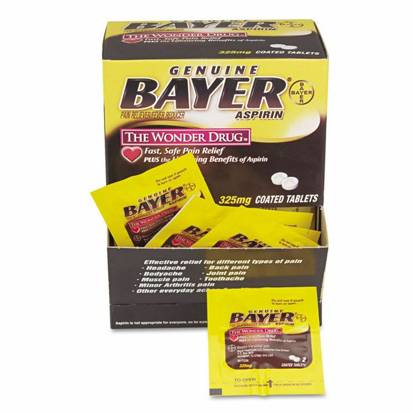 Bayer Aspirin Tablets 50/ 2 ct