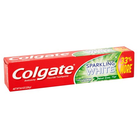 Colgate Toothpaste Sparking White Mint Zing 24/ 8 oz