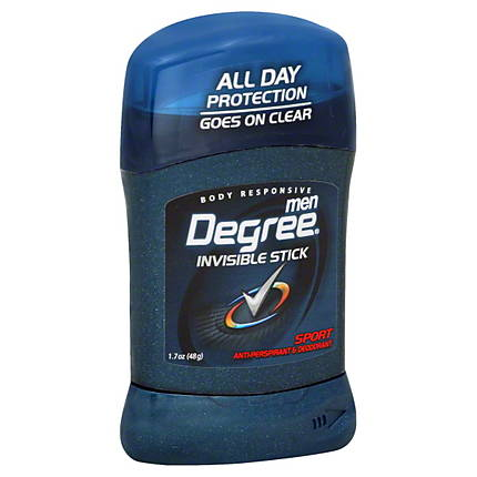 Degree Men Invisible Solid Ap Sport 12/ 1.7 oz