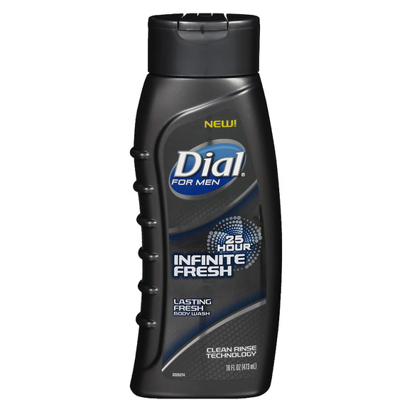 Dial Body Wash Mens Infinite Fresh 6/ 20 oz