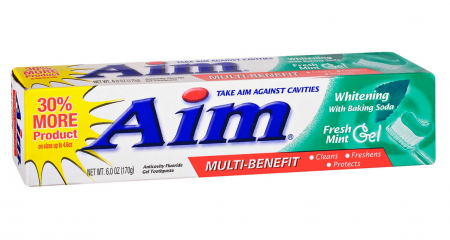 Aim Whitening Mint Gel 24/ 5.5 oz