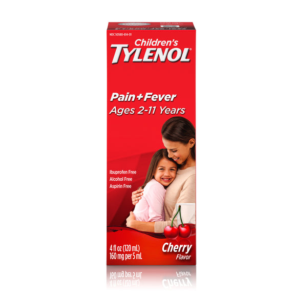 Tylenol Children's Cherry Flavor Liquid 6/4 oz