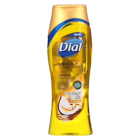 Dial Body Wash Coconut Oil 6/ 21 oz