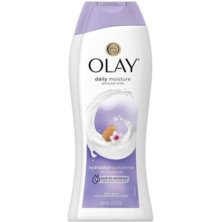 Olay Body Wash Moisture with Almond Milk 4/ 22 oz