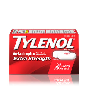 Tylenol Extra Strength Caplets 6/ 24 ct