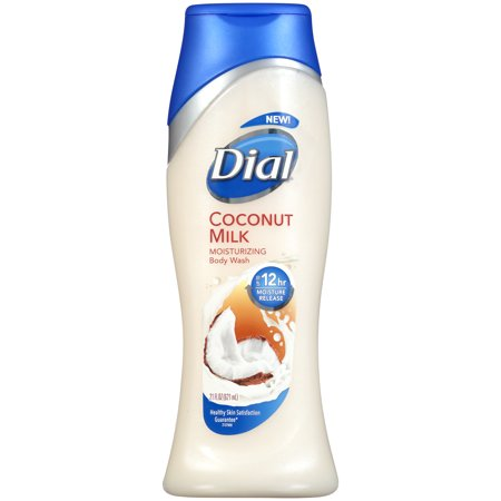 Dial Body Wash Coconut Milk 6/ 21 oz