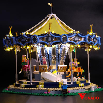 Carousel #10257 Lego Light - Vonado