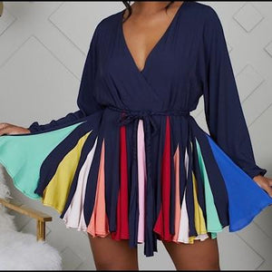 Twirl Multi-Color Dress (Restocked) - Everything Girls Like Boutique