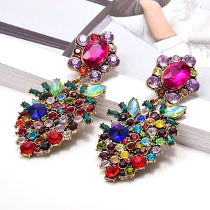 Multi Colored Stone Earring
