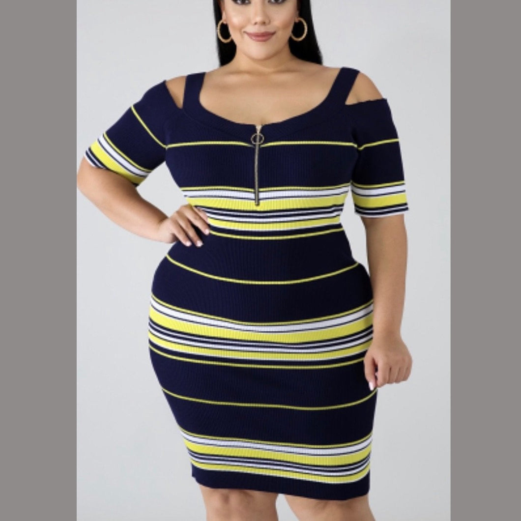 In Your Feelings Bodycon Dress (Plus Size) - Everything Girls Like Boutique
