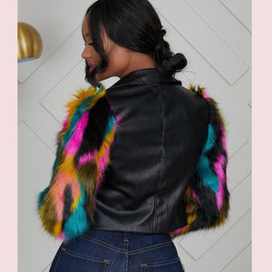 What The Faux Leather Jacket - Everything Girls Like Boutique