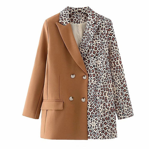 Top Notch Leopard Blazer (Restocked)
