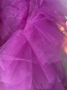 Purple Tulle Robe