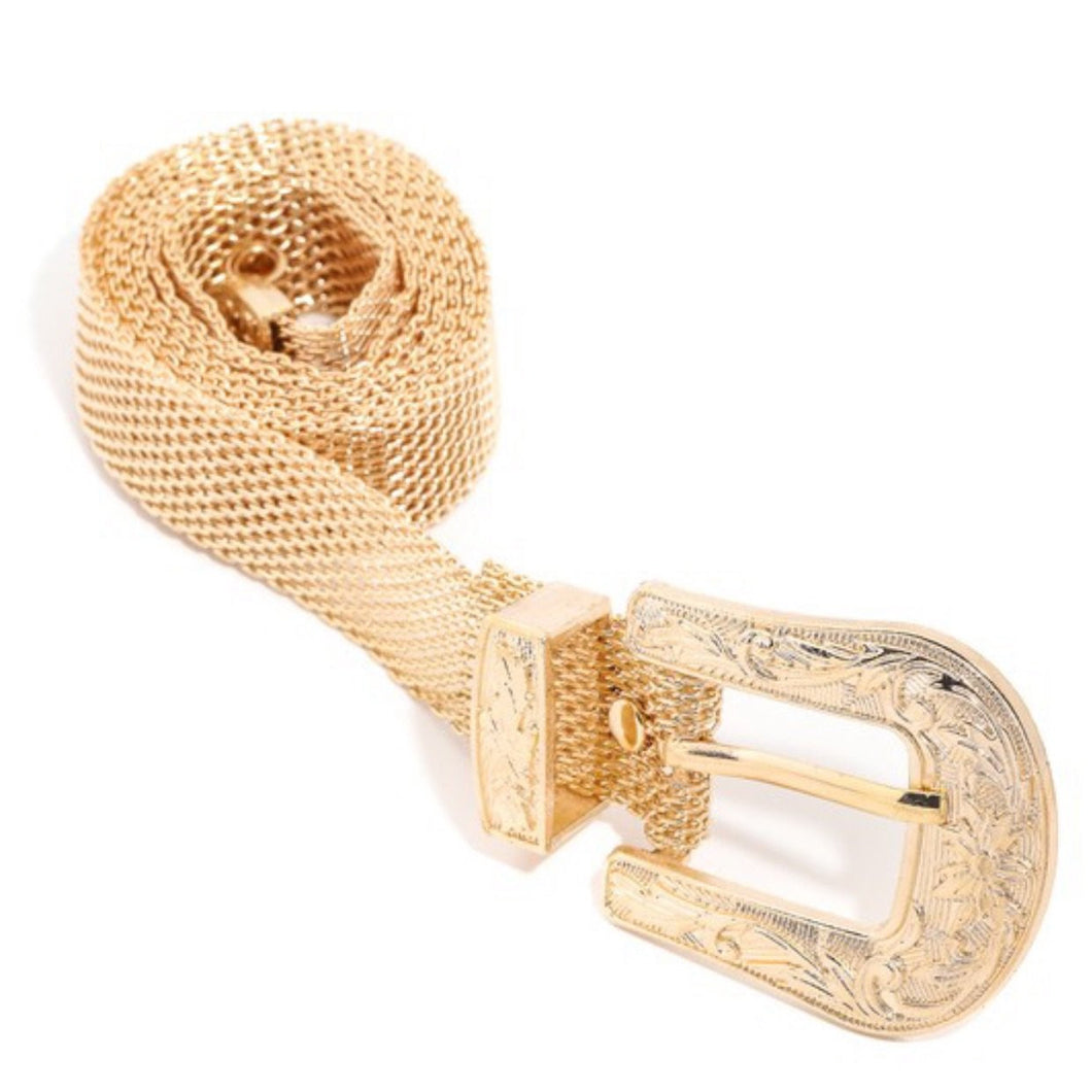 Mila Gold Chain Belt - Everything Girls Like Boutique