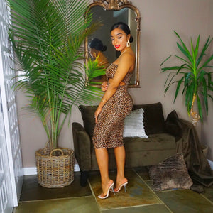 Leopard Tube Dress - Everything Girls Like Boutique