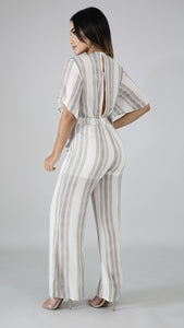 Kingston City Stripe Jumpsuit - Everything Girls Like Boutique