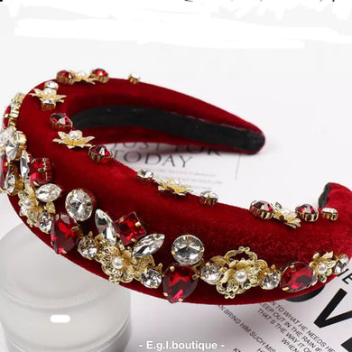 Pearl Studded Headband (see other colors)