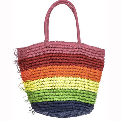 I Need A Vacay Woven Bag - Everything Girls Like Boutique