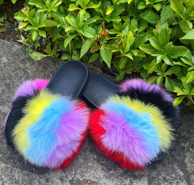 Unicorn Furr Slides